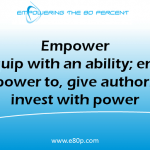 Definition of empower