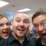 Ashley Wells, Ellory Wells & Jared Easley at In-N-Out, Las Vegas