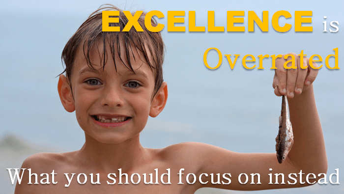 Excellence is overrated and what to focus on instead