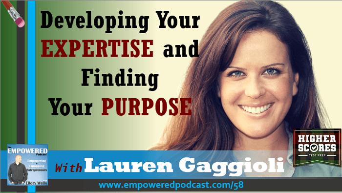 Higher Scores Lauren Gaggioli Empowered Podcast