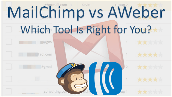 MailChimp vs Aweber which is better