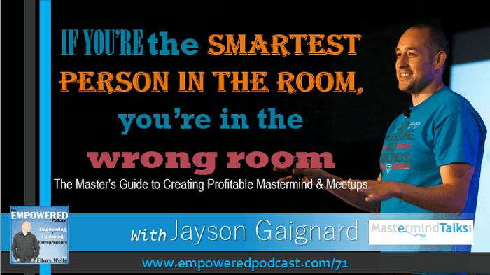 EP71 Jayson Gaignard Mastermind Talks