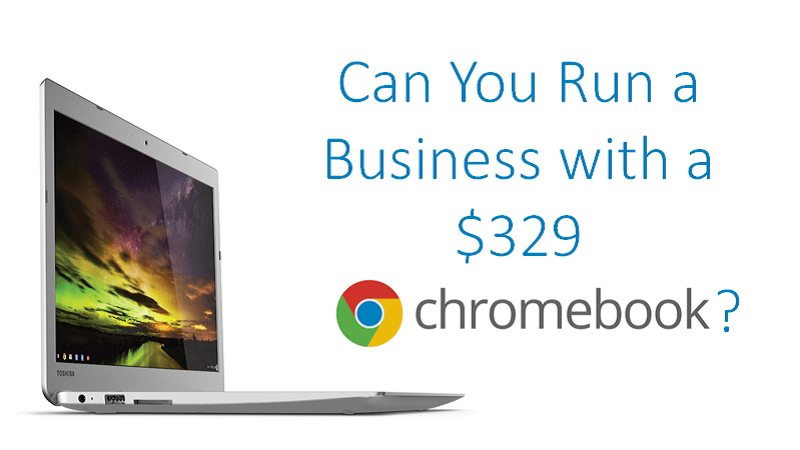 Business on a Chromebook