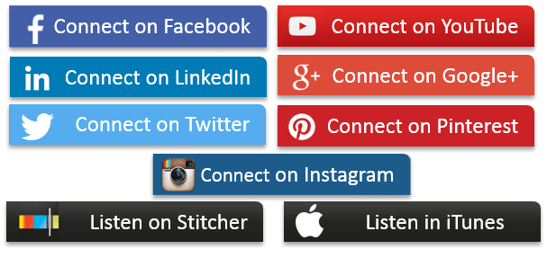 Social Media Buttons by Ellory