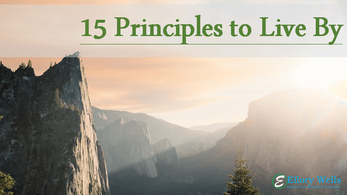 Principles to Live By