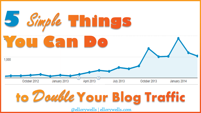 Ways to Double Your Blog Traffic