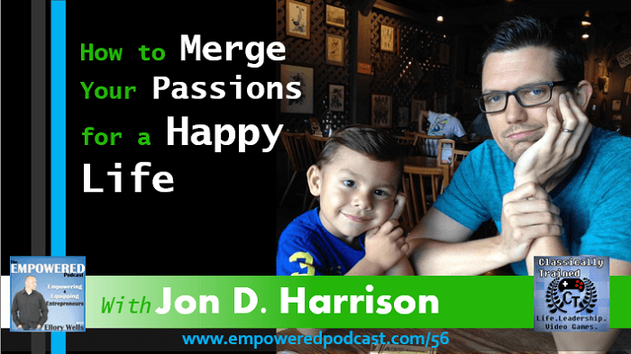 EP56 Jon Harrison is Classically Trained