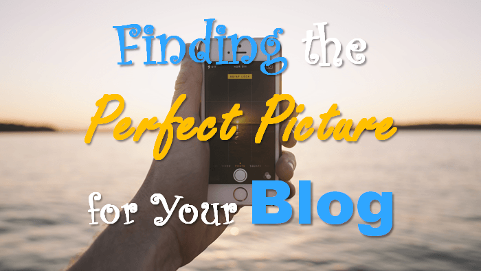 Finding pictures for Blog