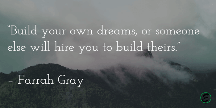 Build Your Dreams - Farrah Gray