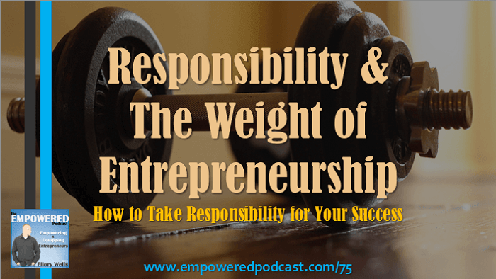 EP75 Reponsibility of Entrepreneurship
