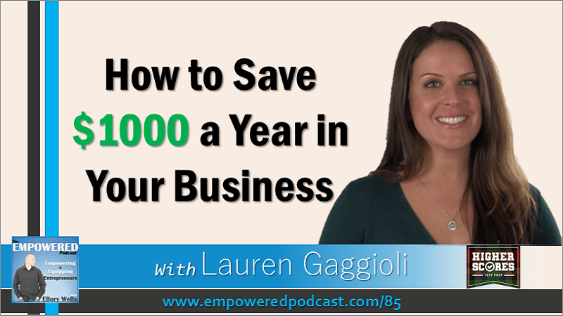 EP85 How to Save Money Lauren Gaggioli