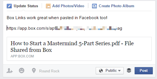 mastermind documents box link on facebook