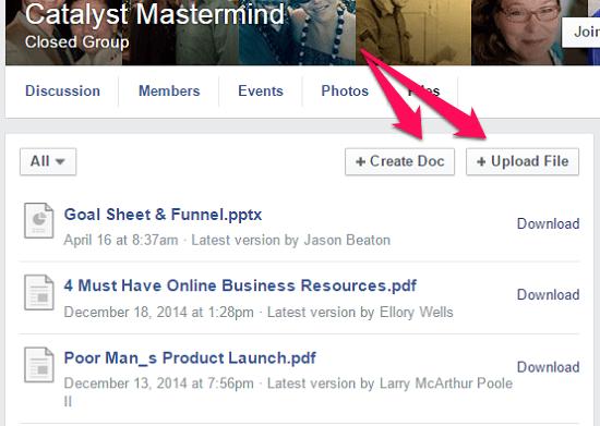 mastermind documents facebook