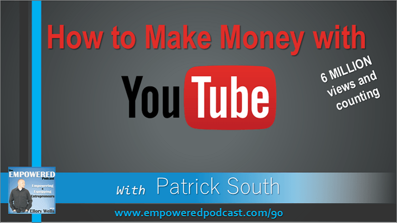 EP90 Patrick South How to Make Money with YouTube Axel Show