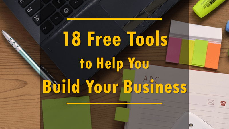 Free tools to build your business