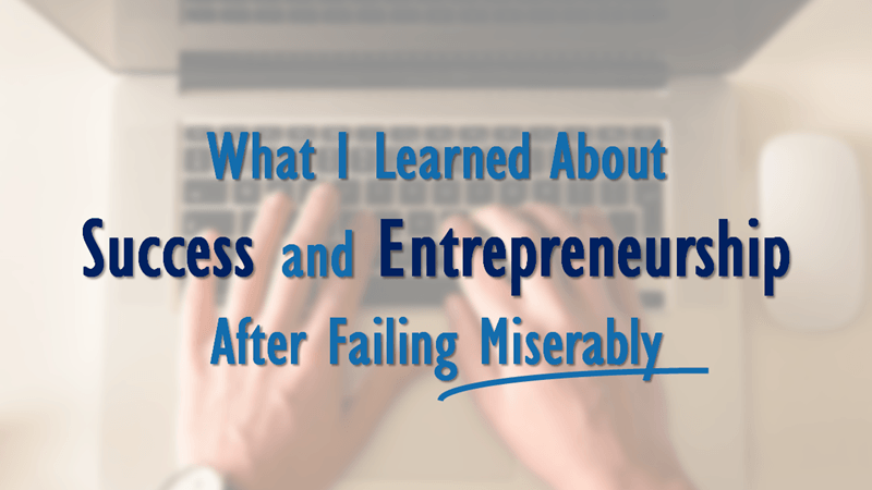 failure success entrepreneurship