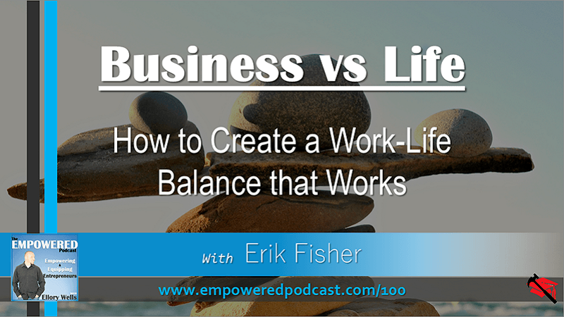 EP100 Finding a Work-Life Balance that Actually Works Erik Fisher