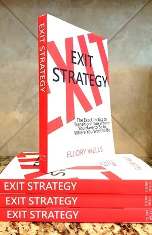 exit strategy book stack