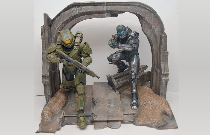 halo 5 statues