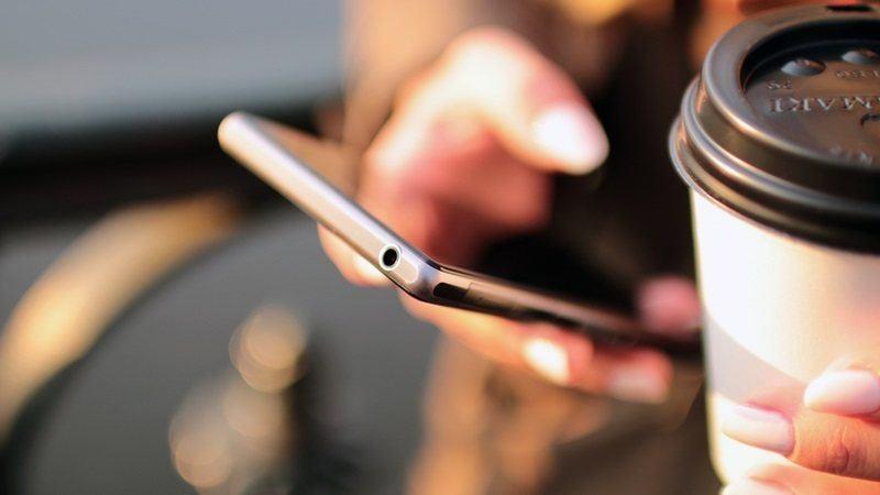 millennials coffee cell phone