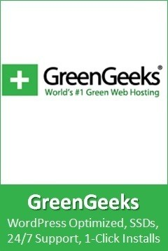 GreenGeeks recommended