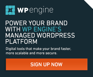 Managed WordPress Hosting from WPEngine
