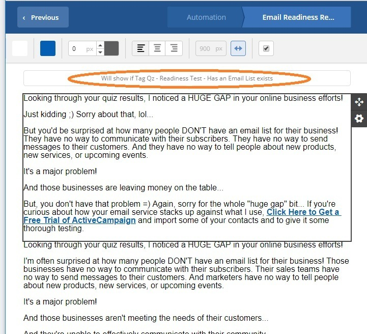 how to send customized emails with tags activecampaign