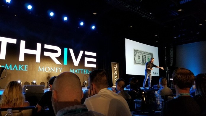 thrive make money matter 2017 cole hatter